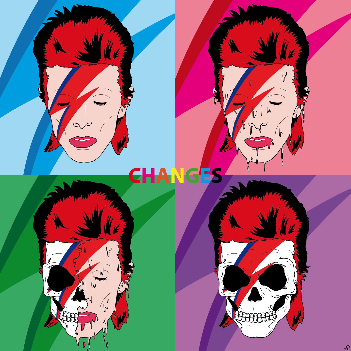 Bowie-Album-Cover-Final-Major-Project-For-University