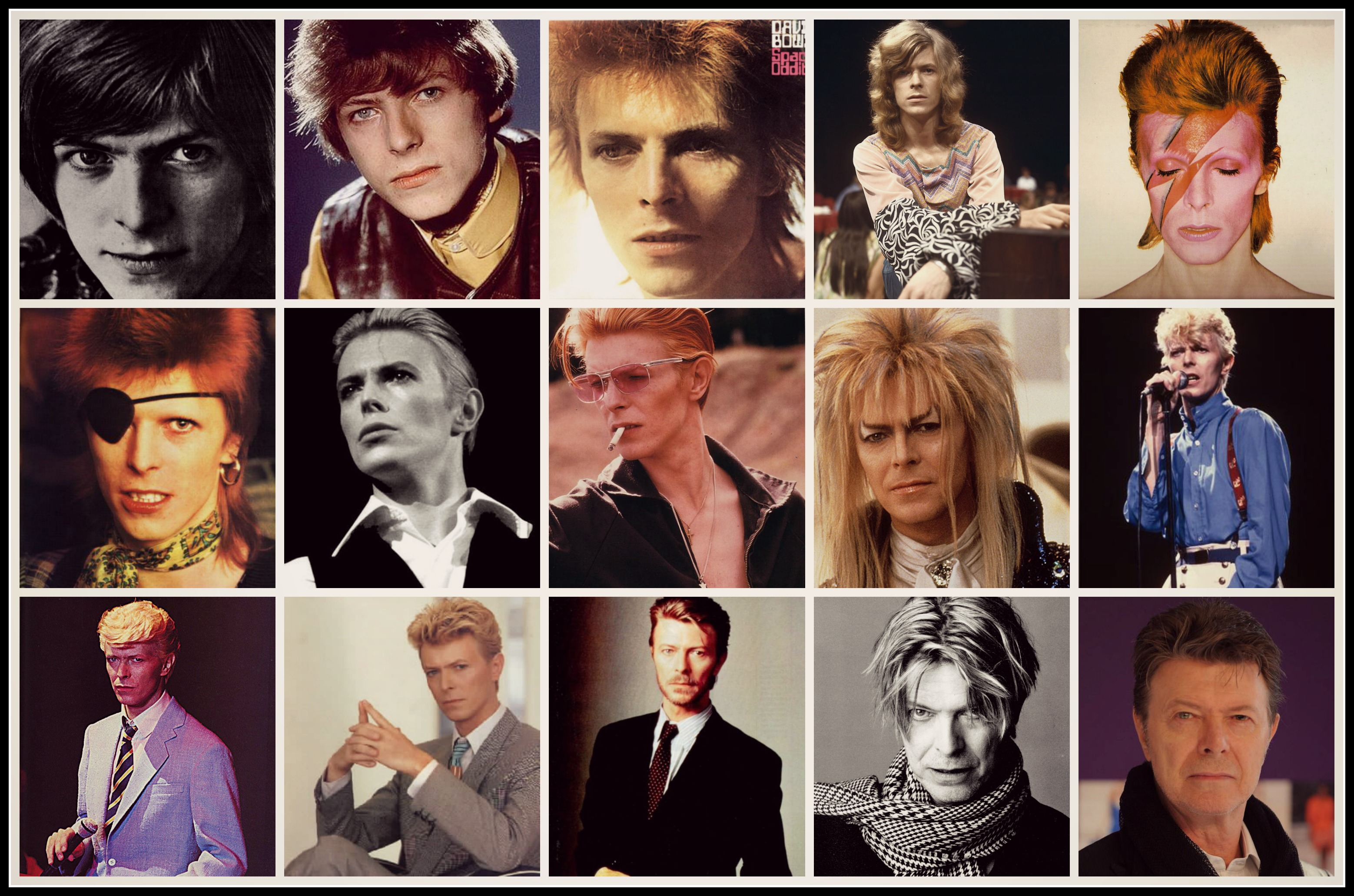 Bowie the-many-faces-of-david-bowie