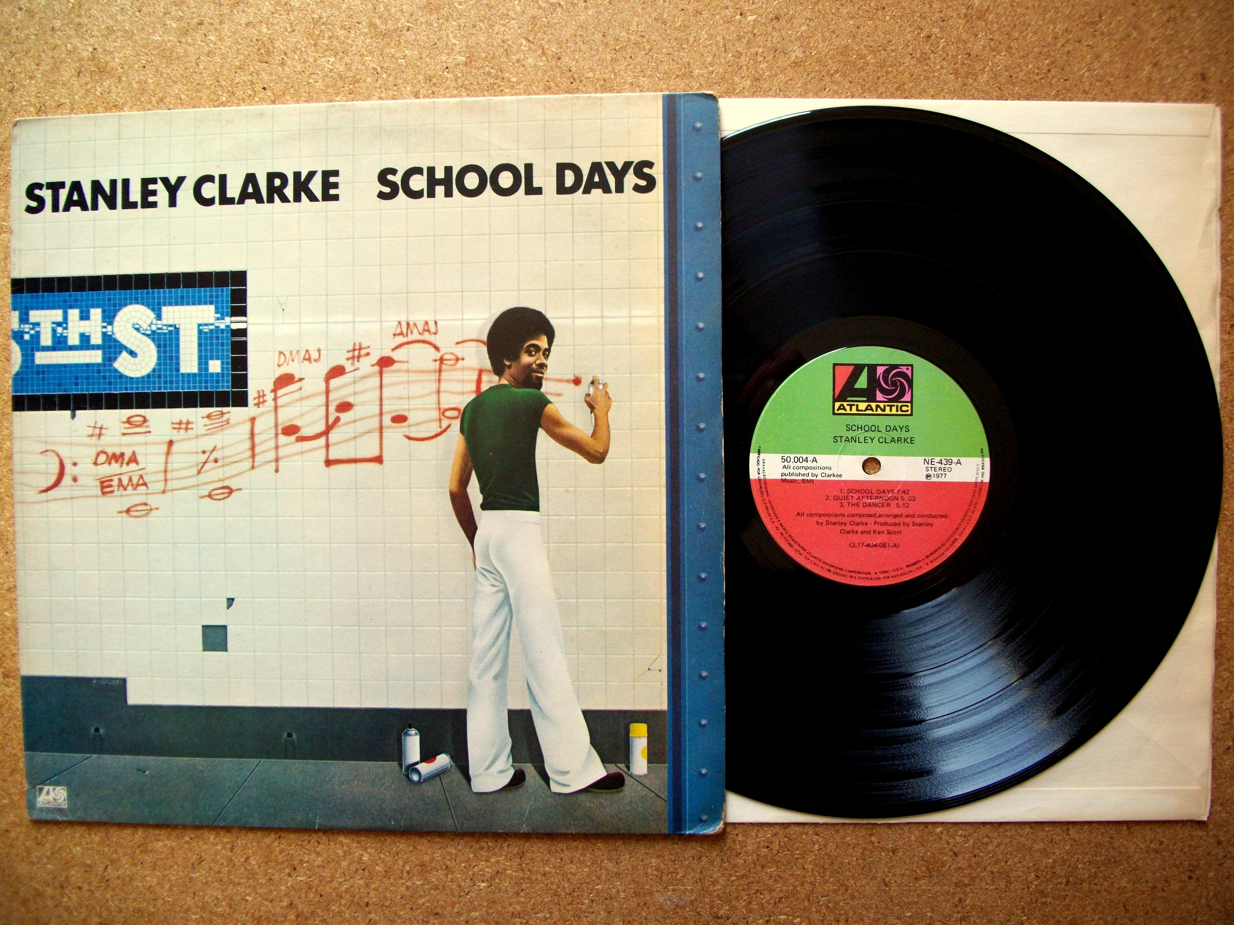Stanley Clarke School Days LP