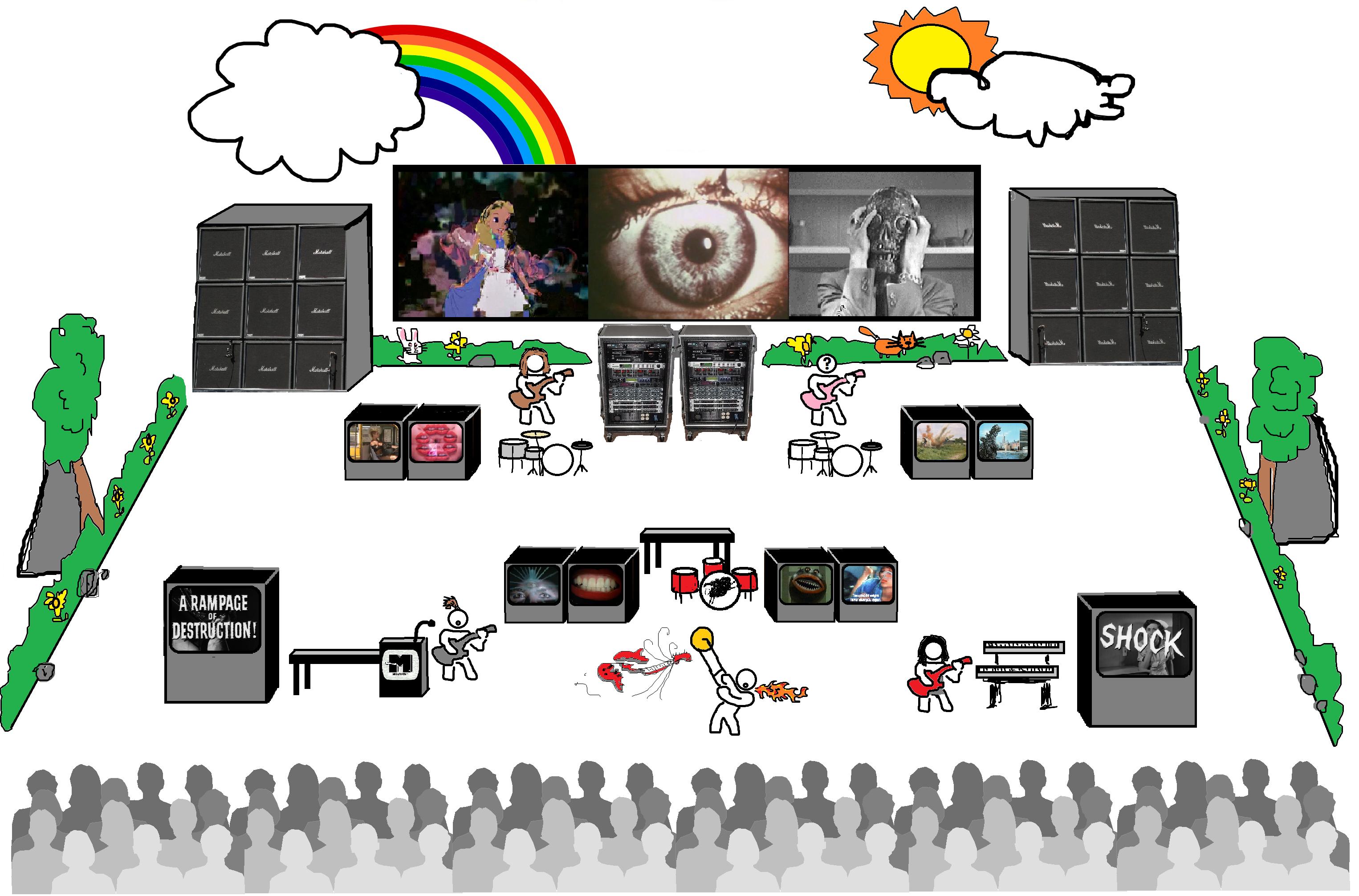 NegativeM Stage View Redux