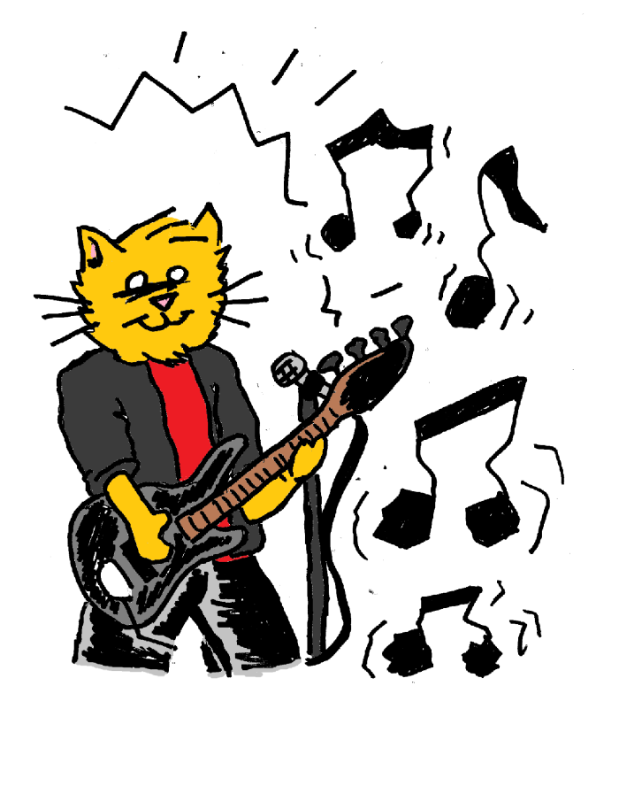 Mikeycat Jammin color