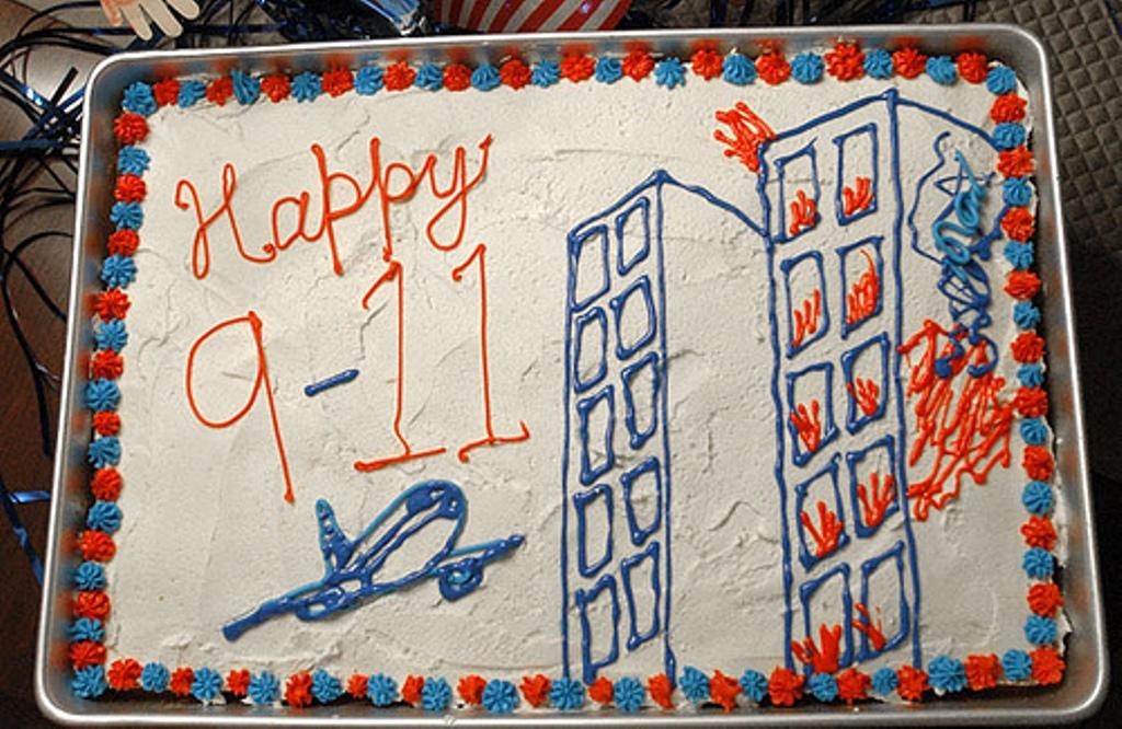 happy 9-11 cake